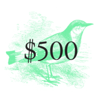 $500 Pivotal Character Patron