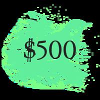 $500 Pivotal Character Patron