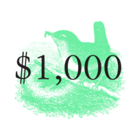 $1,000 Pivotal Character Patron