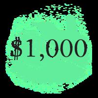 $1,000 Pivotal Character Patron