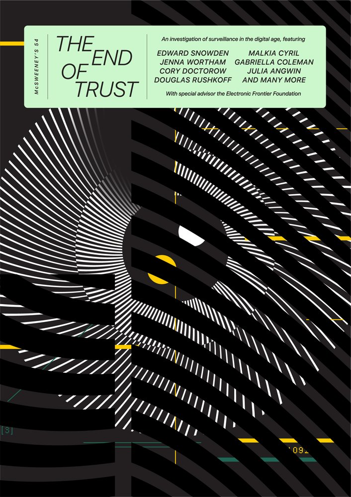 The End Of Trust Mcsweeney S Issue 54 The Mcsweeney S Store