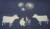 Fireworks and Farm Animals T-Shirt