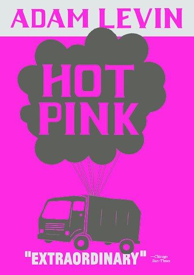 Hot pink paperback