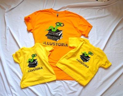 Family shirts flat